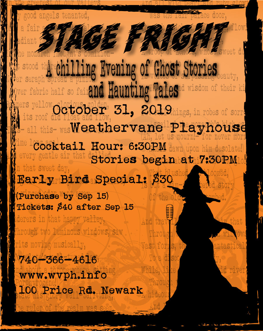 Stage Fright: A Chilling Evening of Ghost Stories and Haunting Tales